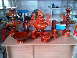 Bộ đồ thờ gỗ Hương