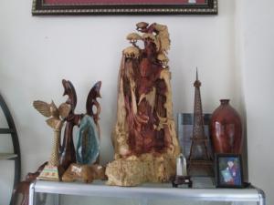 Bức Phật Bà - Gỗ Hương