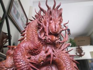 Rồng Cá Chép - Gỗ Hương