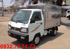 Thaco towner750a thùng kín 600kg