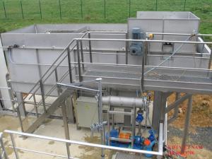Unicell dùng xử lý nước thải nhiễm dầu, mỡ không cần sử dụng hóa chất