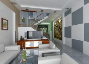 Cho thuê nhà mặt tiền đường Huỳnh Tấn Phát, nhà 3 tầng vị trí đẹp