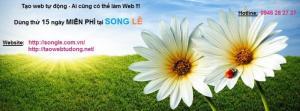 Website chuyên nghiệp, dùng THỬ trước khi dùng THẬT cùng SONG LÊ, tại sao không???