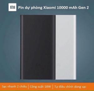 Pin Dự Phòng Xiaomi 10000mAh Gen 2 Chính Hãng 2016