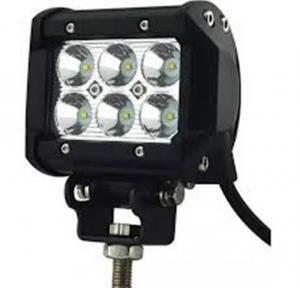 Đèn led trợ sáng c6 vuông 2 tầng 6 bóng gắn...