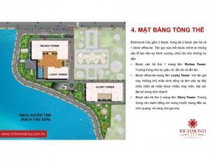 Richmond City tọa lạc MT Nguyễn Xí, vị trí vàng Trung tâm Bình Thạnh, cư dân kết nối đến Quận 1,2,3, Phú Nhuận rất nhanh chóng và tiện lợi. Đặc biệt, ngay khu vực dân cư hiện hữu, kinh doanh sầm uất.