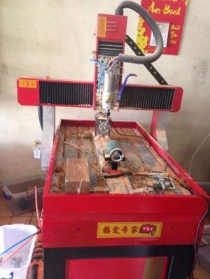 Máy đục, tranh, tượng gỗ, máy cắt khắc mỹ nghệ (cnc6090)