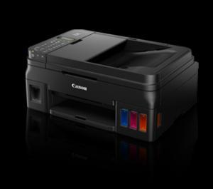 Máy in phun màu tiết kiệm mực, đa năng tiện lợi Canon pixma G4000