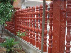 khuôn hàng rào trúc sen