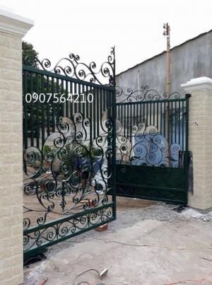 Cung cấp hệ thống cửa cổng tự động tại thành...
