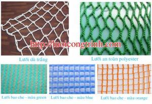 Chuyên cung cấp lưới an toàn, lưới bao che, lưới chắn vật rơi
