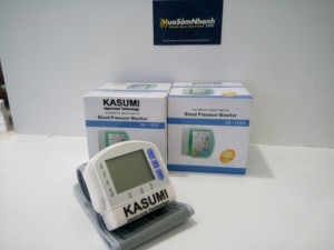 Máy đo huyết áp cổ tay KASUMI (TRẮNG) - Bác sĩ của gia đình - MSN383037