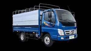 Xe tải 2,4 Tấn lưu thông trong thành phố - Thaco Ollin345 - ĐC ISUZU công nghệ mới.