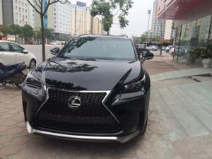 Giao ngay xe mới nhập khẩu Mỹ Lexus NX200T (Fsport) màu đen.