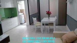 Cho thuê căn hộ cao cấp Masteri Thảo Điền Q2: 2PN, tầng 39, view City,12.5 tr/th.