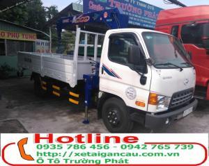 Bán xe tải cẩu HD99 gắn cẩu 3 tấn