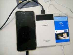 Pin Sạc Dự Phòng PISEN 10000mAh Màn Hình LCD Chính Hãng, Chất Lượng Tốt - MSN181007