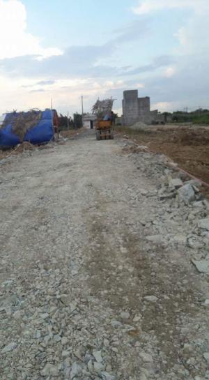 Đất thổ 1700m2 xây kho bãi giá 1.3 tỷ ở thị trấn đức hòa long an.