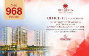 970tr/căn Officetel Richmond City MT Nguyễn...