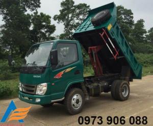 Xe tải ben tự đổ 3480kg 1 cầu Việt Trung