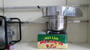 Bán máy nổ bỏng ngô, máy làm bắp rang bơ, nguyên liệu làm bắp rang bơ giá rẻ