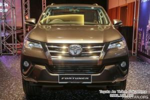 Nhận Đặt Hàng Mua Toyota Fortuner 2017 Máy Dầu Mẫu Mới Nhập Khẩu Màu Nâu