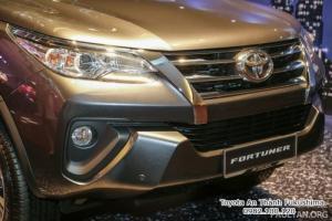 Nhận Đặt Hàng Mua Toyota Fortuner 2017 Máy Dầu Mẫu Mới Nhập Khẩu Màu Nâu Giao Tháng 01/2017 Tại HCM