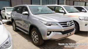 Nhận Đặt Hàng Mua Toyota Fortuner 2017 Máy Xăng 1 Cầu Số Tự Động Mẫu Mới Nhập Khẩu Màu Bạc Giao Tháng 03/2017 Tại HCM