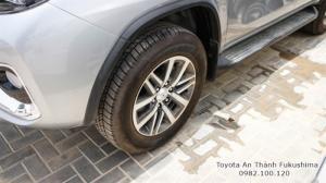 Nhận Đặt Hàng Mua Toyota Fortuner 2017 Máy Xăng 1 Cầu Số Tự Động Mẫu Mới Nhập Khẩu Màu Bạc Giao Tháng 01/2017 Tại HCM