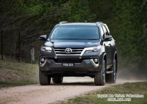Nhận Đặt Hàng Mua Toyota Fortuner 2017 Máy Xăng 2 Cầu Số Tự Động Mẫu Mới Nhập Khẩu Màu Xám Giao Tháng 01/2017 Tại HCM