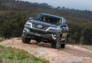 Nhận Đặt Hàng Mua Toyota Fortuner 2017 Máy Xăng 2 Cầu Số Tự Động Mẫu Mới Nhập Khẩu Màu Xám Tại HCM