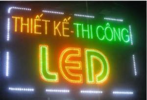 Thi công bảng hiệu hộp đèn quảng cáo