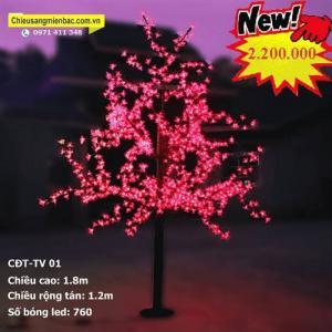 Cây hoa đèn led sản phẩm trang trí độc đáo
