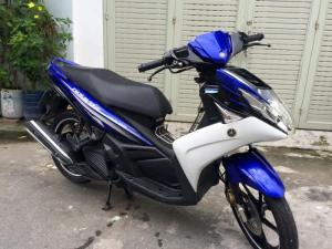 Yamaha Nouvo 5 FI màu xanh trắng , zin từng con ốc