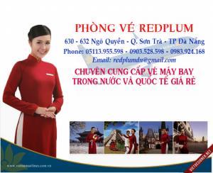 Vé máy bay giá rẻ tại Đà Nẵng - Phòng vé Redplum