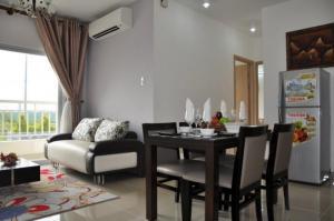 Cần cho thuê gấp căn hộ Central Garden Quận 1 DT: 90m2 , 2pn