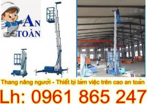 Thang nâng người thiết bị thường được dùng để thi công các công trình xây dựng, sửa chữa điện, lắp đặt,...ĐT tư vấn: 0961 865 247