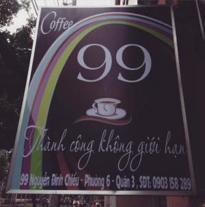 Trả mặt bằng, thanh lý vật dụng quán cà phê...