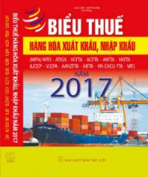 Biểu thuế xuất nhập khẩu 2017