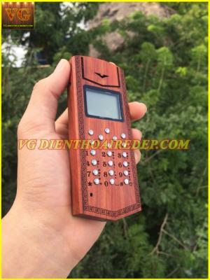 Điện thoại vỏ gỗ