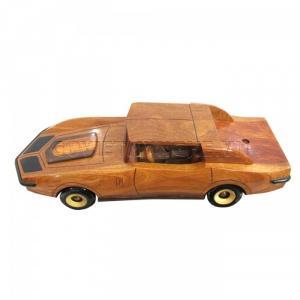 Mô Hình Xe Gỗ Chevrolet Corvette 1970, Dài 34 x Rộng 13 x Cao 11 (cm), Giá 430.000₫