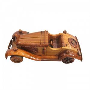 Mô Hình Xe Gỗ Duesenberg Vintage, Dài 35 x Rộng 13 x Cao 11 (cm), Giá 430.000₫