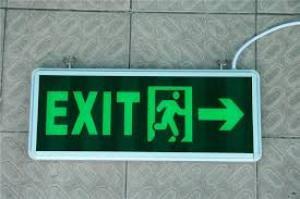 Đèn EXIT - SỰ CỐ