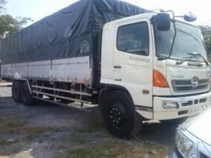 Xe tải Hino 16 tấnFL8JTSL thùng mui bạt dài 7m8 -9m4 Có xe giao ngay