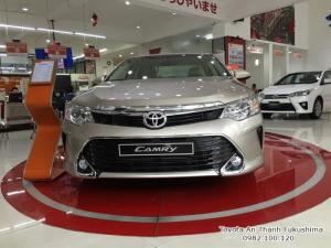 Salon Toyota Sài Gòn bán xe Toyota Camry 2018 giá rẻ tại TPHCM - liên hệ đến 0982 100 120 để nhận tư vấn mua xe, báo giá, tham gia chương trình lái thử cùng nhiều chương trình ưu đãi mua xe khác