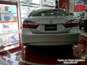 Đại lý Toyota tại Sài Gòn - bán xe Toyota Camry 2018 mẫu mới nhất, nhận tư vấn, báo giá cùng hỗ trợ mua trả góp qua hotline 0982 100 120, gọi ngay để nhận tư vấn hữu ích