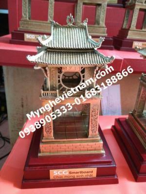 Quà tết 2017_Biểu tượng khuê văn các,chùa 1 cột