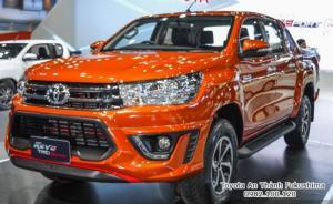 Khuyến Mãi Mua xe Toyota Bán Tải Hilux 2.4E 2017 Số Sàn 1 Cầu Màu Cam Nhập Thái Lan. Mua Trả Góp Chỉ 170Tr