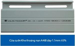Bán Cửa Cuốn Austdoor Khe Thoáng A48i Giá Rất Cạnh Tranh