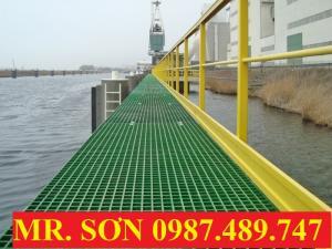 sàn thao tác bến cảng